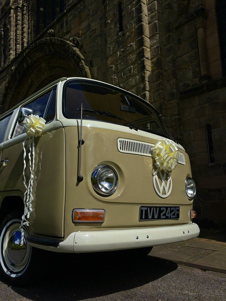 Looking Imposing - a classic VW Campervan