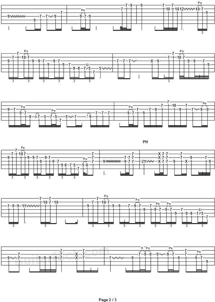 7 Best Solos Images On Pinterest Guitar Lessons Guitars And