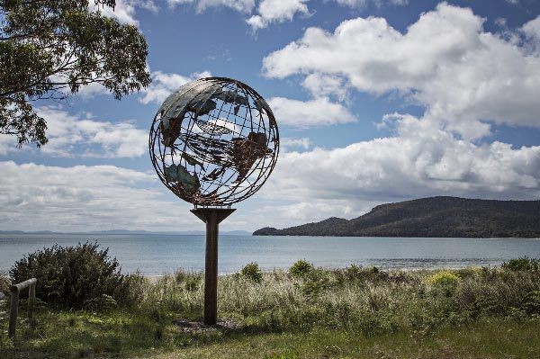 Adventure Bay Road, Bruny Island. Photo by Anelda Lotter and article  for Think Tasmania.