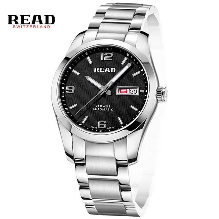 READ watch men's watch all automatic machine table leisure fashion Luxury Brand Waterproof Men relogio masculino R8083GA