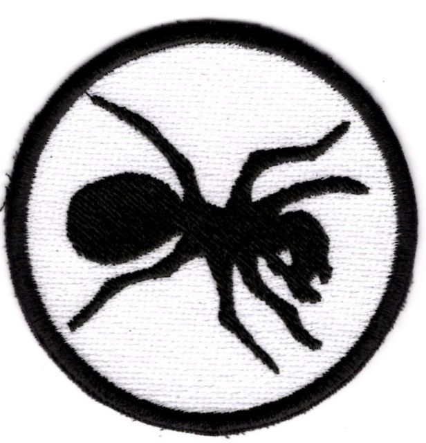 Black Ant Patch Iron/sew on patch Badge