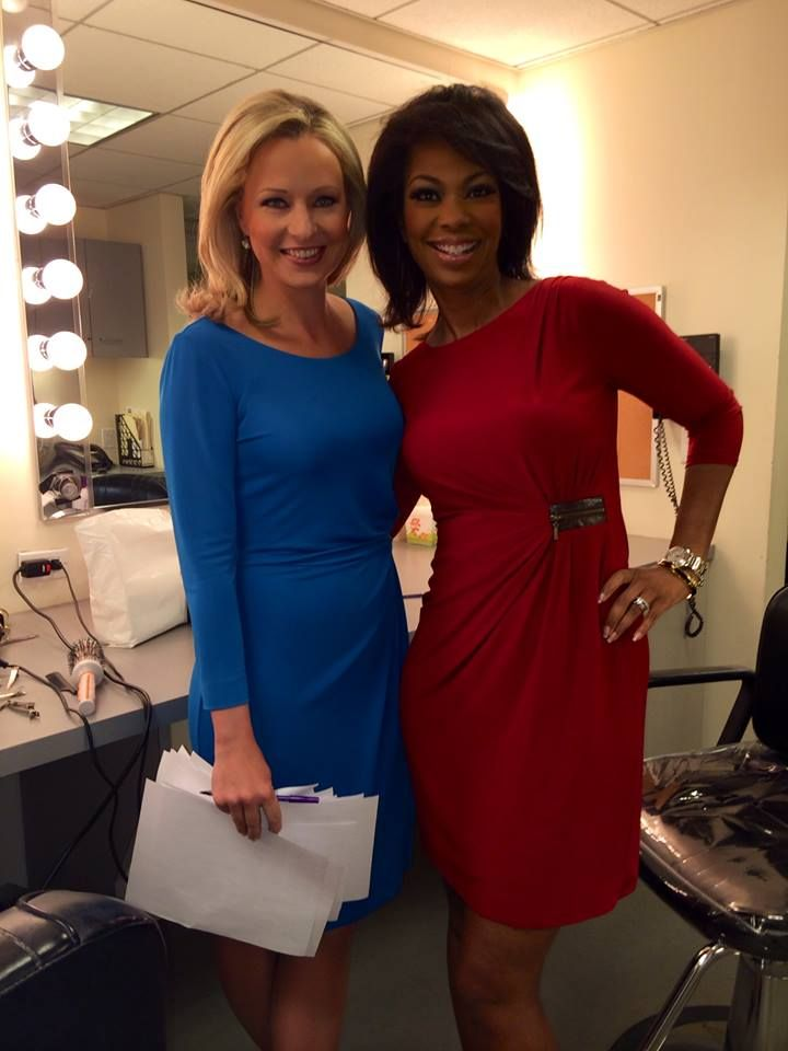 Sandra Smith + Harris Faulkner rehearsal ready! New show starts today!