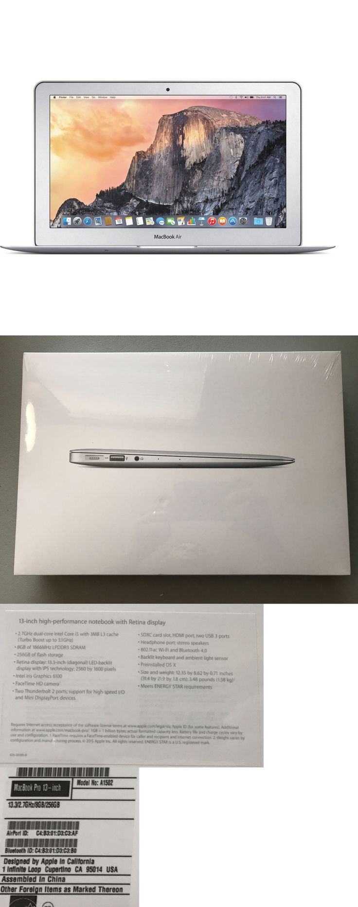 general for sale: New Sealed Apple Macbook Air I7 2.2Ghz 8Gb 512Gb 11.6 Laptop Mjvr2ll/A 11 -> BUY IT NOW ONLY: $1299 on eBay!