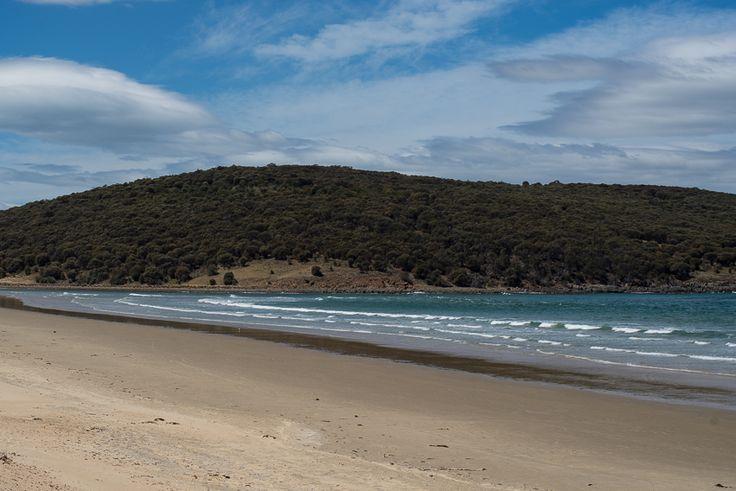 A no surf day at Carlton Beach