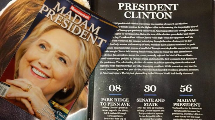"""RIGGED: Newsweek's """"Madam President Clinton"""" Hits The Shelves Due To A """"Business Decision"""""""