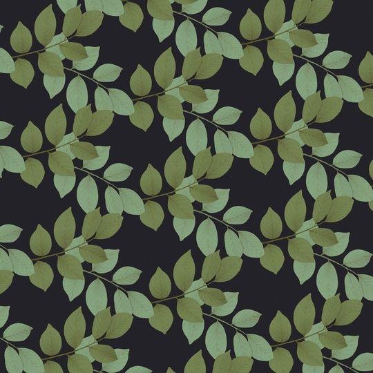"""Leaf Pattern Navy"" by Jay Kelly on #INPRNT - #illustration #print #poster #art"