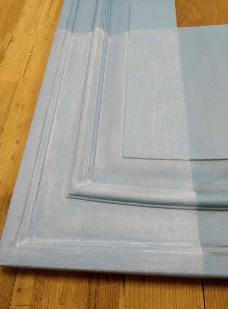 Oltre 25 fantastiche idee su cassette di legno vintage su pinterest arredamento antico arredo - Verniciare ante cucina ...