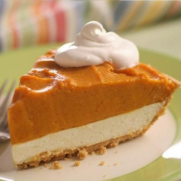 Double Layer Pumpkin Pie Recipe | We Know Our Pies | Pinterest