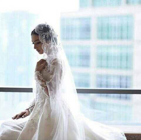 Nabila Syakieb wedding dress