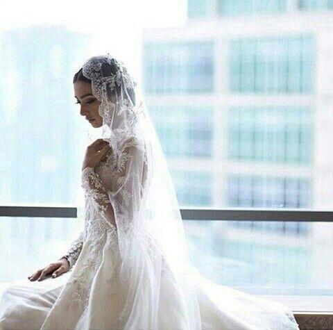 Nabila Syakieb wedding dress