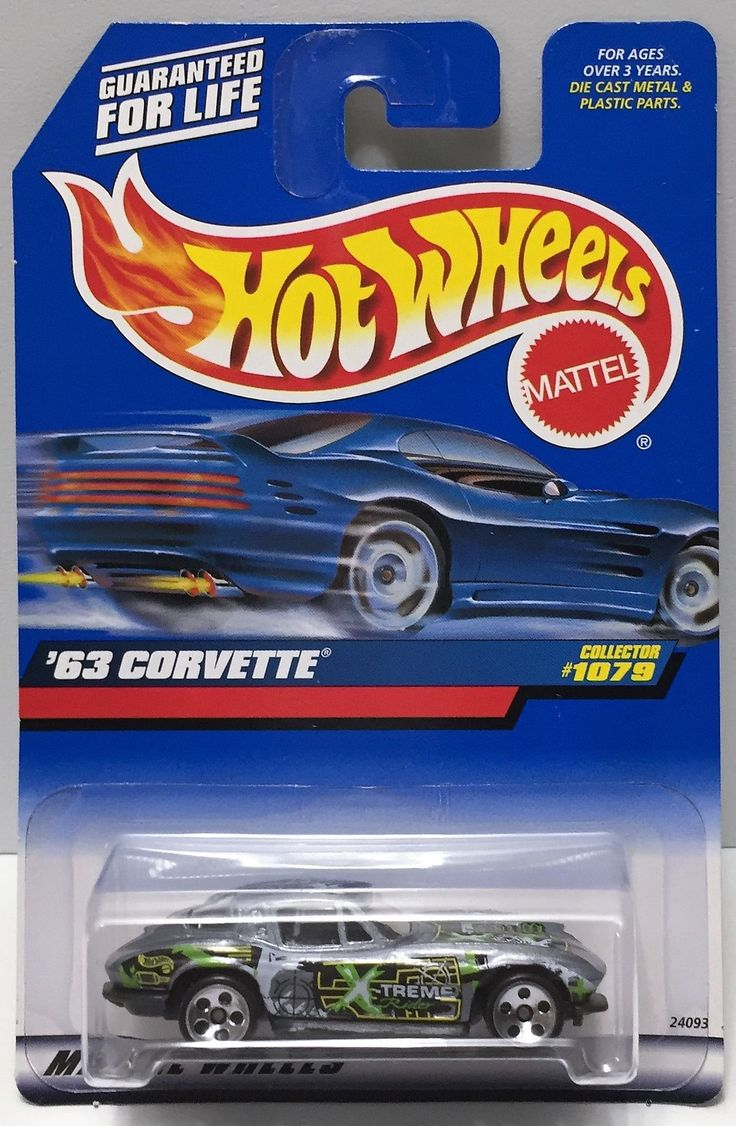 1998 Mattel Hot Wheels Die-Cast - '63 Corvette This item is NOT in Mint…