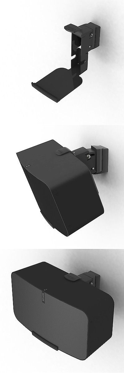 Speaker Mounts and Stands: Flexson Wall Mount For Sonos Play:5 - Gen. 2 (Black) -> BUY IT NOW ONLY: $99.99 on eBay!