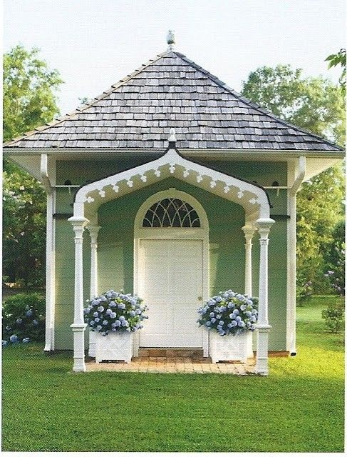 17 best ideas about craft shed on pinterest men in sheds for Victorian garden shed designs