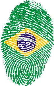 South America visa Brazil passport stamp