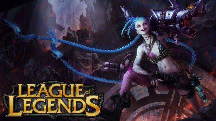 League of Legends Jinx - Rapid Fire