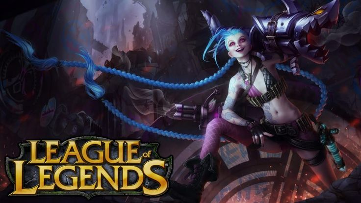 League of Legends Jinx - Rapid Fire
