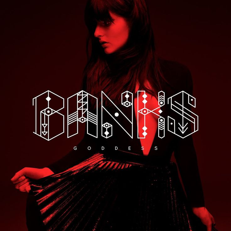 """Song of the day: """"Goddess"""" by Banks - I really like how the letters look and I think they would make a cool tattoo"""