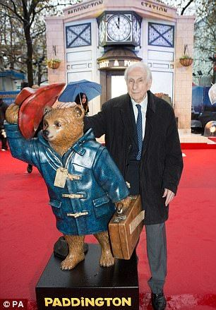 Bond attends the premiere of the Paddington film at the Odeon Leicester Square in 2014