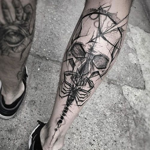 125 Best Leg Tattoos For Men: Cool Ideas + Designs (2020