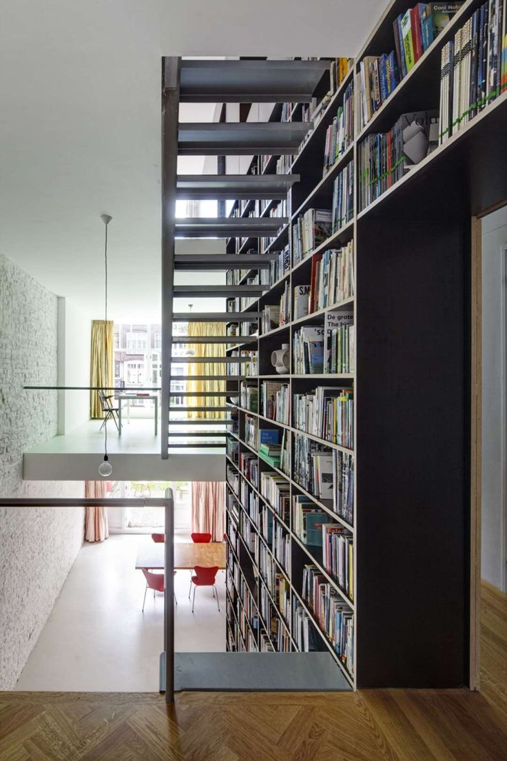 Vertical Loft by Shift architecture urbanism extreme makeover of a pre-war city dwelling in the centre of Rotterdam  This so called do-it-yourself dwelling ...