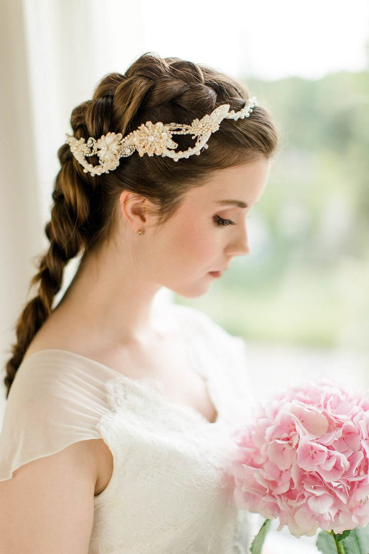 204 best bridal hair images on pinterest | bridal hair, hairstyles