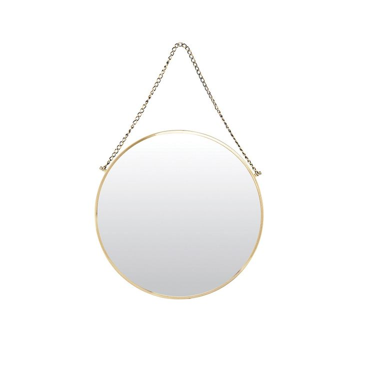 Discover the House Doctor Bolina Mirror - Brass at Amara