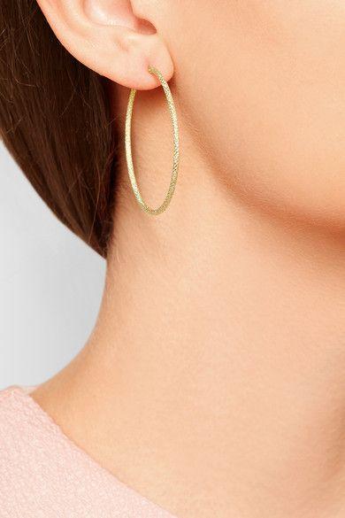 Florentine 18-karat White Gold Hoop Earrings - one size Carolina Bucci CvLaV2uF