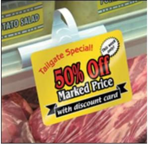 Shelf Wobblers and Shelf Talkers are designed to compliment your promotions and allowing a large area to display information or offers. This increases a customer's awareness of your product and improves the chance of a sale.