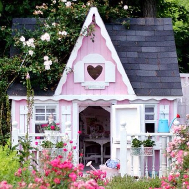 1000 images about playhouses garden sheds on pinterest for Shed playhouses