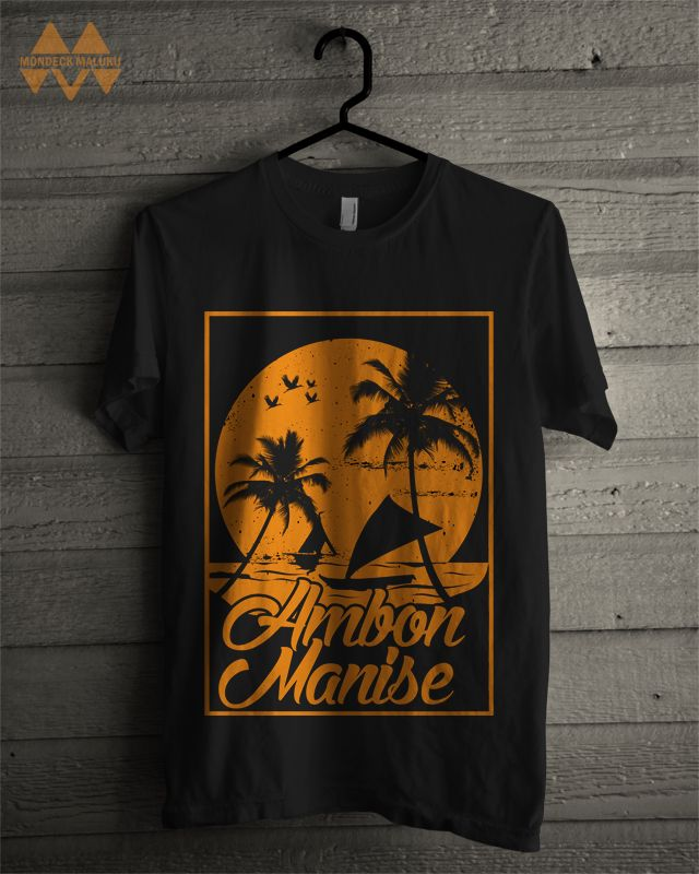 Ambon Manise Tshirt (Front) by Islands Attitude