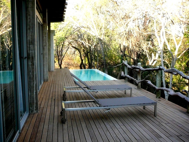 A view from the deck at Karula.