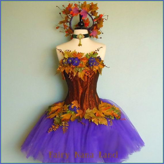 Adult Fairy Costume Autumn Reign Faerie Fall by ...
