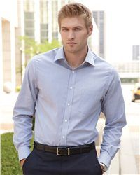 Van Heusen PinCord.   Easy Care blend, removable collar stays