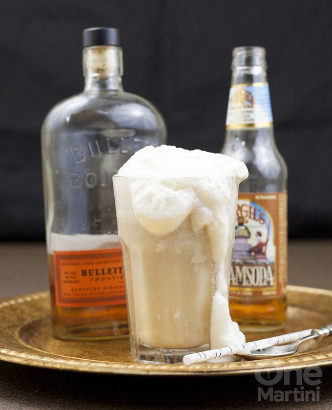 bourbon ice cream float : onemartini.com