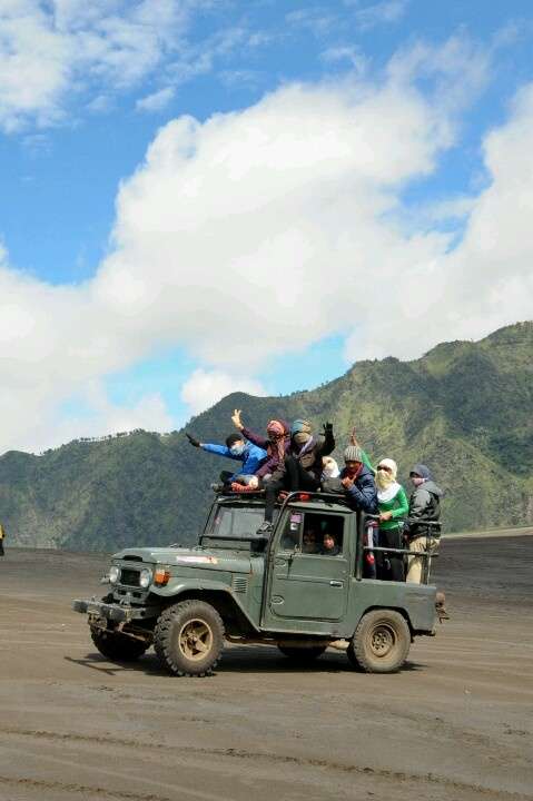 Here, i'm at Bromo #Indonesia