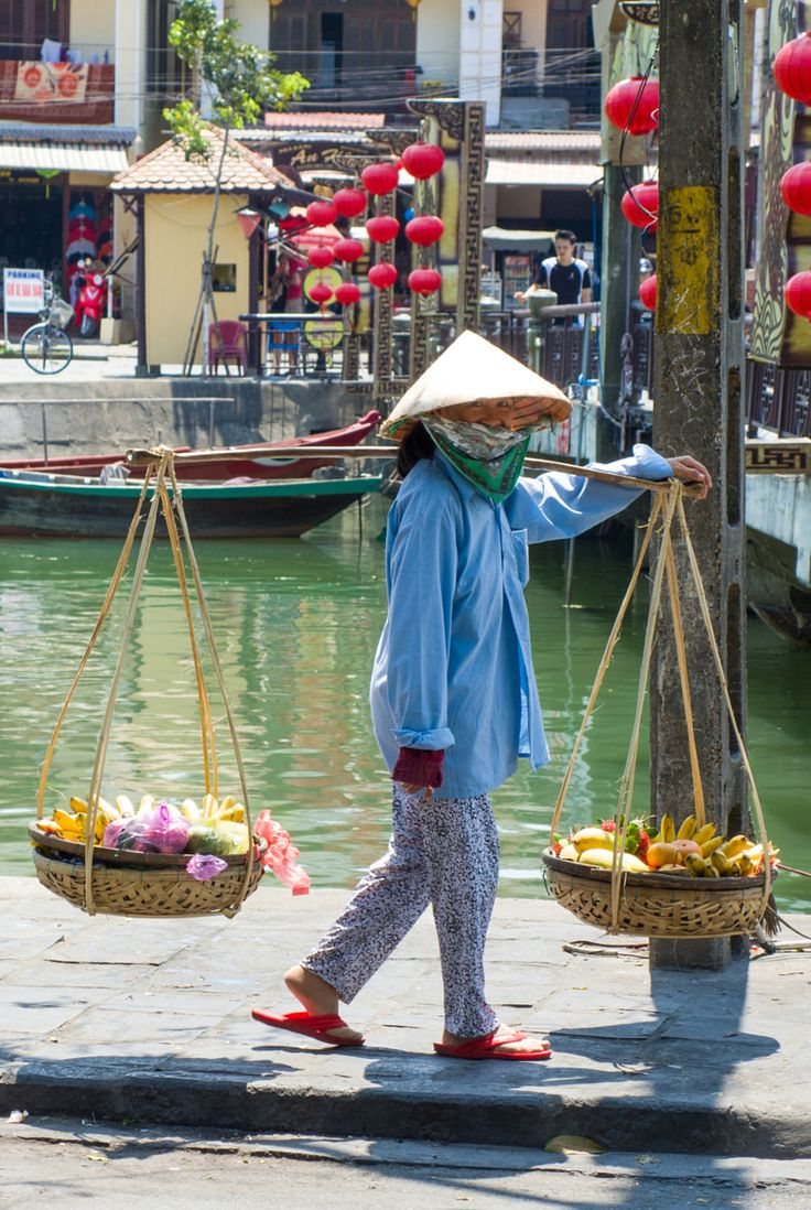 Street Vendor, Hoi An, Vietnam