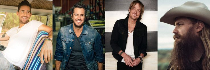 Keith Urban, Luke Bryan, Chris Stapleton, Jake Owen, Lee Brice, Maddie & Tae, Kane Brown and many other country music stars will descend on The Expo
