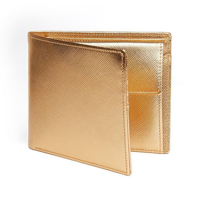 Men´s Wallet  ANTORINI in Gold Saffiano