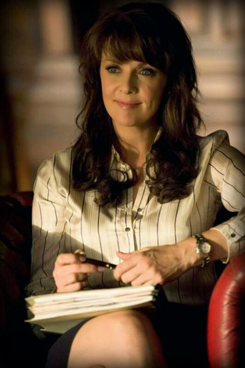 Amanda Tapping as Helen Magnus in Sanctuary