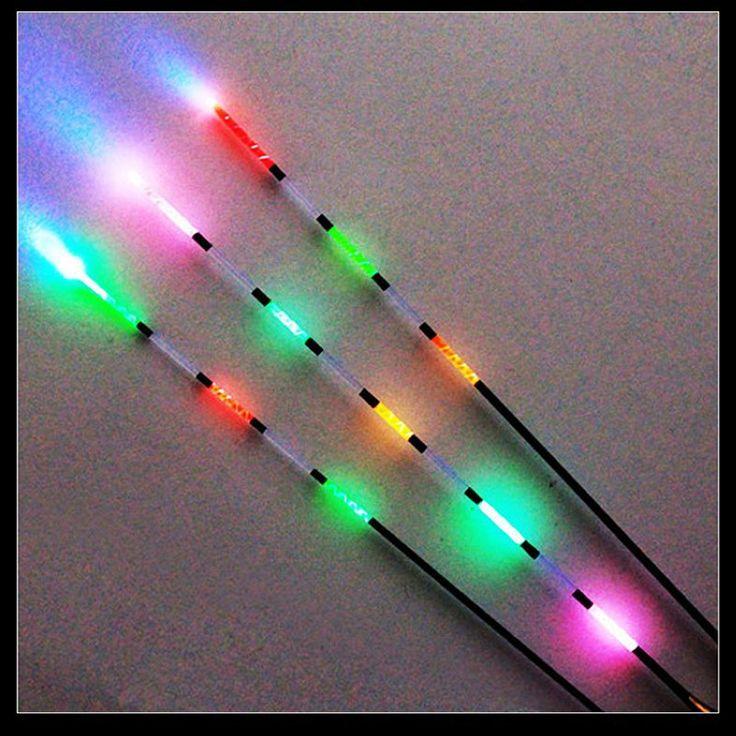 Sougayilang LED Float Memancing Cahaya Mengambang Listrik + Baterai Air Dalam Mengapung Memancing 3 pcs/set Bobber Memancing Gigi