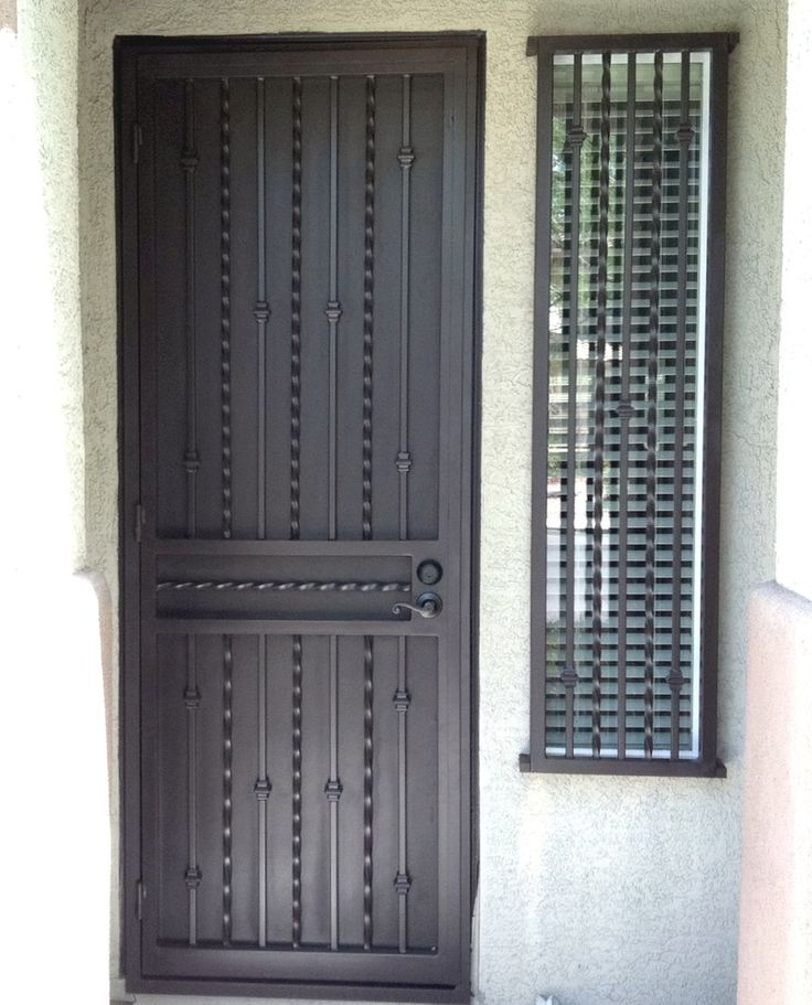 38 Best Security Doors Amp Gates Images On Pinterest Iron