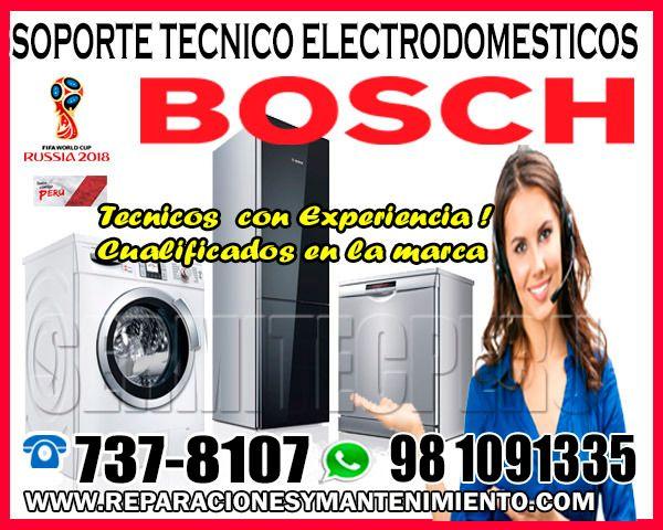 Bosch 7378107 Tecnicos De Linea Blanca En Santa Anita Soporte
