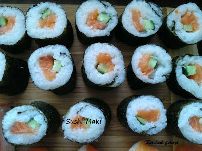 Kuchcik gotuje: Sushi - http://przepisy-kulinarne-kuchcika.blogspot.com/
