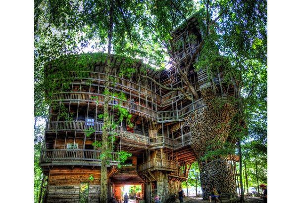 roomie(ルーミー)では、今までたくさんのツリーハウスをご紹介してきましたが、今回いつもに増して特徴的なもの。アメリカはテネ...