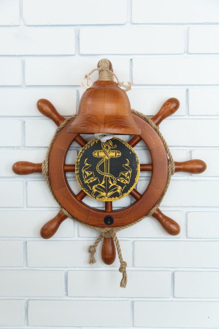 applique murale / mer clair / marine volant / bell lampe / nautique applique par Rawlik sur Etsy https://www.etsy.com/ca-fr/listing/400443233/applique-murale-mer-clair-marine-volant