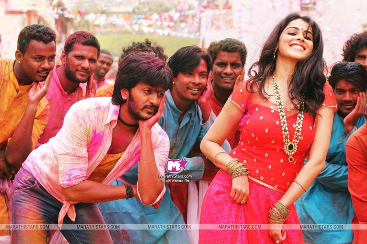 Genelia - Riteish Deshmukh Wallpaper Lai bhaari Marathi Movie