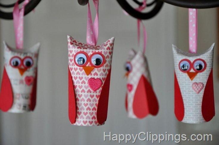 10 Adorables bricolages de Saint-Valentin à faire avec les enfants, à partir de rouleaux en carton! - Trucs et Bricolages