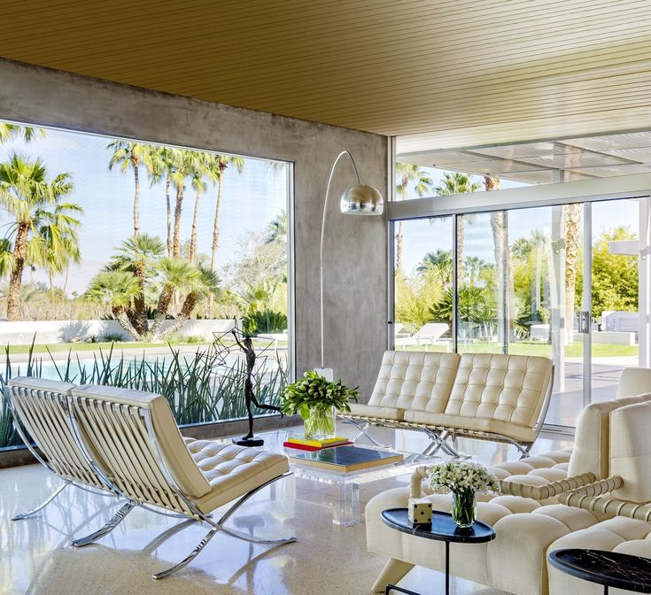 House tour a palm springs home that recalls the glamour of old hollywood