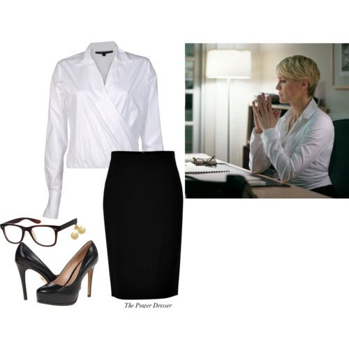 Get the Look: The Simple Chic of Claire Underwood - Style Inspiration: Wear to Work: