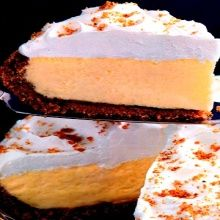 Recipe: Lemon Pie from Eagle Brand (no bake, using sweetened condensed milk, cream cheese and pudding mix) - Recipelink.com